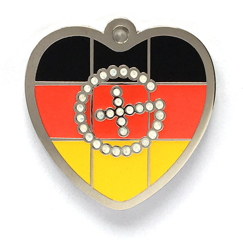 my geoheart geocoin germany