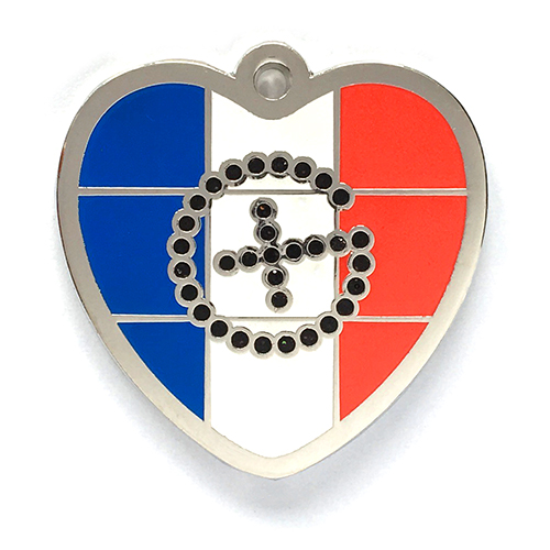 my geoheart geocoin france