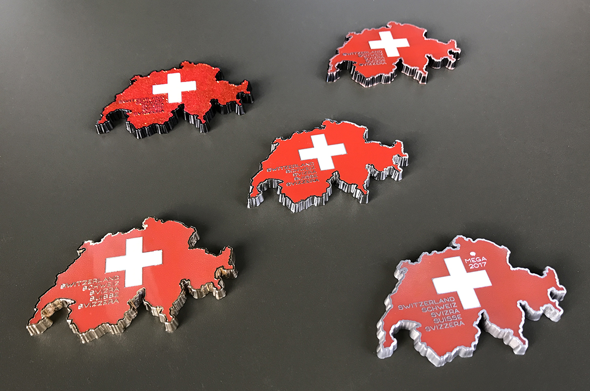 love switzerland geocoins